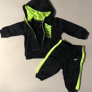 Toddler Nike Dri Fit 2 piece hoodie and pants